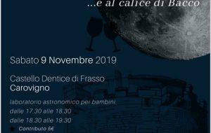 Occhio alla Luna… e al calice di Bacco: appuntamento 9 Novembre al Castello Dentice di Frasso