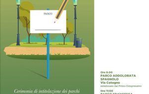Venerdì 29 novembre cerimonia di intitolazione dei tre parchi cittadini di Francavilla Fontana