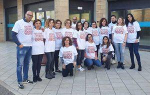 La protesta dei lavoratori Abaco