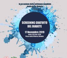 Lions Club e Leo Club in piazza per lo screening gratuito del diabete