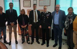 Il nuovo Comandante Provinciale dei Carabinieri incontra i vertici della STP Brindisi