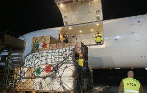 Partito da Brindisi un volo umanitario delle Cooperazione Italiana per la Somalia