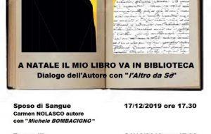 """Al MaPRi la rassegna culturale """"A Natale il mio libro va in Biblioteca"""""""