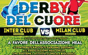Si prepara il derby del cuore tra Milan Club Brindisi ed Inter Club Brindisi