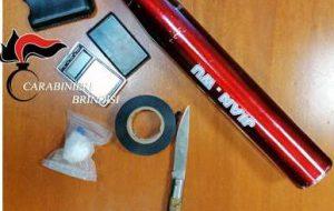 Beccati a passarsi 10,85 grammi di cocaina: due giovani in arresto