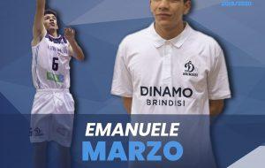 Dinamo Brindisi, fuori Leggio, dentro Marzo. E oggi c'è il big match con Corato in diretta facebook dalle 18