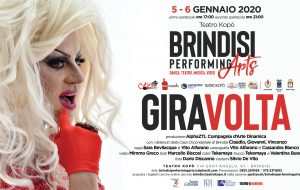 "Brindisi Performing Arts: il 5 e 6 Gennaio al Teatro Kopò va in scena ""Giravolta"", performance di teatro-danza e video"