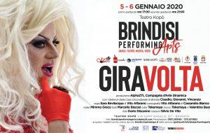 """Brindisi Performing Arts: il 5 e 6 Gennaio al Teatro Kopò va in scena """"Giravolta"""", performance di teatro-danza e video"""
