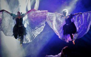 L'isola magica: la meraviglia della danza aerea al Nuovo Teatro Verdi di Brindisi