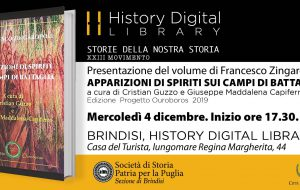 "Mercoledì 4 si presenta il volume ""Apparizioni di spiriti sui campi di battaglia"""