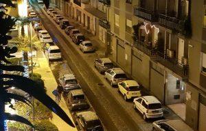 Primi fiocchi di neve a Brindisi