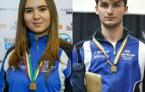 Pietro Rinaldi e Miriana Morciano convocati per gli allenamenti con la nazionale