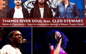 """Notte di Capodanno a Brindisi: la festa è davanti a Nuovo Teatro Verdi con  i """"Thames River Soul"""""""
