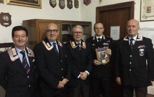 Il Comandante Carrara visita la Sezione A.N.C. di Brindisi