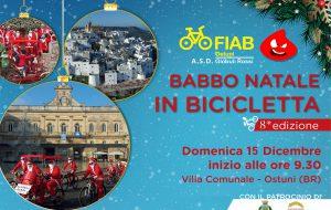 """Domenica ad Ostuni torna """"Babbo Natale in Bicicletta"""""""