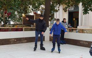 CCR on ICE: in Piazza Vittoria pista di pattinaggio gratuita per bambini e ragazzi