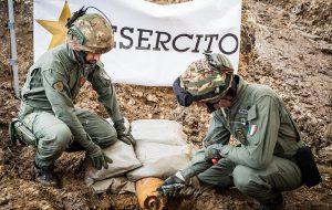 Il video delle fasi salienti del disinnesco dell'ordigno bellico rinvenuto a Brindisi