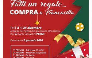 """Parte l'iniziativa: """"fatti un regalo… compra a Francavilla"""""""