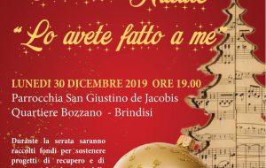 """Lo avete fatto a me: lunedì 30 concerto di Natale alla parrocchia """"San Giustino de Jacobis"""""""
