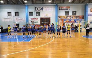 Mesagne Volley sconfitto in casa dal San Salvatore