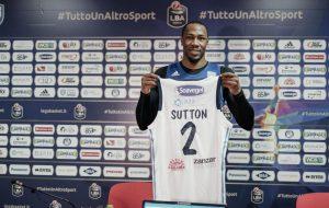 """Sutton: """"Porto energia e durezza mentale""""; Vitucci: """"Un'arma per noi, un problema per gli altri"""""""