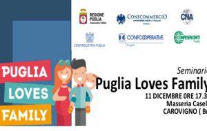 """Mercoledì si presenta il marchio di qualità """"Puglia Loves Family"""""""