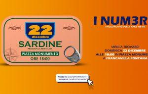 Entrano in scena Le Sardine Brindisine: appuntamento domenica 22 a Francavilla Fontana