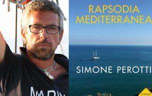 """Il velista Simone Perotti presenta il libro """"Rapsodia Mediterranea"""""""