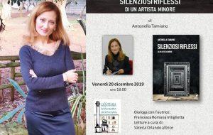 """Venerdì 20 a Palazzo Nervegna si presenta """"Silenziosi Riflessi"""" di Antonella Tamiano"""