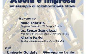 Alternanza Scuola Lavoro: l'ITT Giorgi presenta il progetto con l'azienda Scandiuzzi Steel Constructions Spa