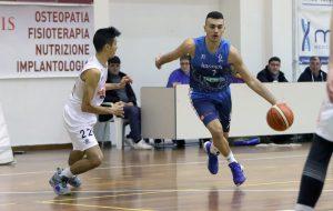 La Dinamo Basket Brindisi supera Foggia trascinata dall'under Pellecchia