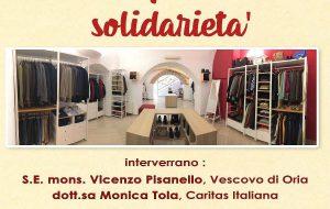 Ad Oria si inaugura la Boutique della Solidarietà