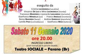 Domani a Fasano concerto per Tonio Leone