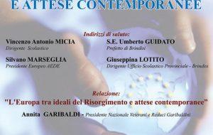 L'Europa tra ideali del Risorgimento e attese contemporanee: se ne parla venerdì 31 all'Alberghiero