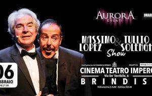 """""""Massimo Lopez & Tullio Solenghi Show"""" al Cinema Teatro Impero di Brindisi"""