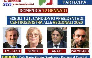Oggi le primarie del centrosinistra in Puglia: ecco dove si vota in Provincia di Brindisi