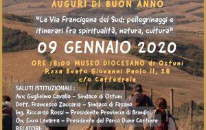 Via Francigena del Sud: domani incontro pubblico ad Ostuni su iniziativa del Parco delle Dune costiere
