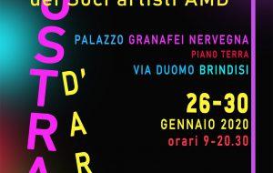 Domenica 26 si inaugura a Palazzo Nervegna la Mostra d'arte dei Soci Artisti AMD