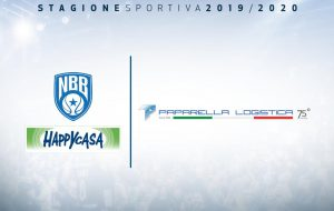 """Paparella Logistica"" Top Sponsor Happy Casa Brindisi"
