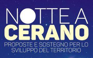 """Sabato 25 al Nuovo Teatro Verdi """"Notte a Cerano"""", proposte e sostegno per lo sviluppo del territorio"""