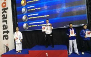 Avvio di stagione col botto per la Metropolitan Karate Brindisi: Francesco Sergi si impone all'Open di Croazia