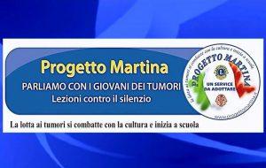 Progetto Martina: il service Leo-Lions informa i giovani sulla prevenzione dei tumori