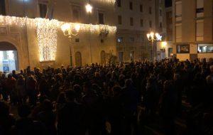 "Oltre 500 ""Sardine"" in piazza a Brindisi"