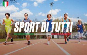 """Grande successo per l'iniziativa """"Sport di Tutti"""": adesioni oltre quota 6700"""