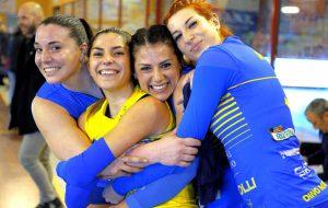 Mesagne Volley corsaro a Trani