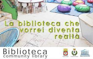 Mercoledì 5 a Latiano si inaugura la Biblioteca Innovativa di Comunità