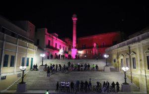 Anche Brindisi tra le città del Giro illuminate di rosa a 100 giorni dal via