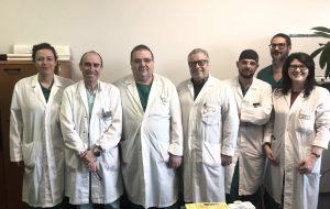 Intervento di altissimo valore innovativo eseguito con successo presso l'Ospedale Perrino di Brindisi