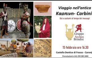 Usi e Costumi al tempo dei Messapi: il Gruppo Archeo al Castello di Carovigno