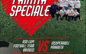 Partita Speciale: Domenica 1 Marzo anche i ragazzi dell'AIPD in campo alla Cedas di Brindisi